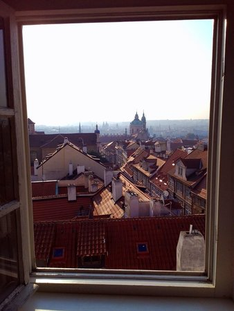 Arpacay Backpackers Hostel Prague: View from room 41 (under the roof)
