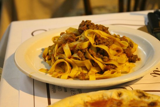 Il Cavallino: the bland, soggy, worst tagliatelle bolognese i ever tasted