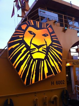 Der Koenig der Loewen (The Lion King): Signet am Shuttle-Boot