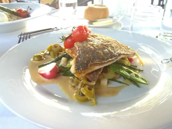 Hampshire Hotel - Amsterdam American: Sauteed sea bream at the Cafe Americain