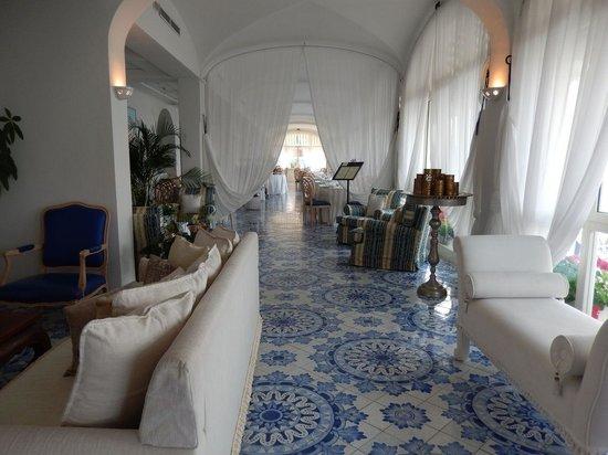 Miramare e Castello Hotel: beautiful public rooms and breakfast room