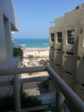 The Lusky – Great Small Hotel : Balcony view (1 side)