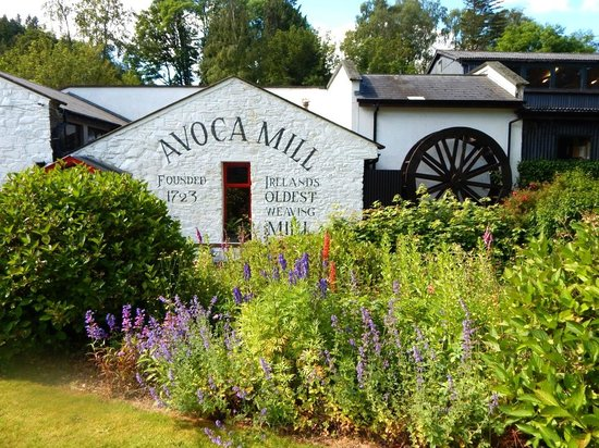 The Mill at Avoca Village : Entrance to Factory and Tour