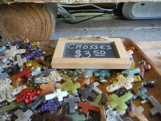 Elijah Mountain Gem Mine: Crosses