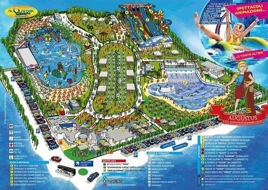 Monopoli, Italia: Mappa parco
