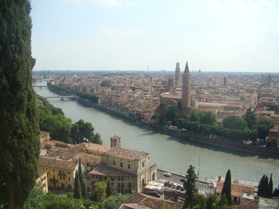 Piazzale Castel San Pietro: View from the top