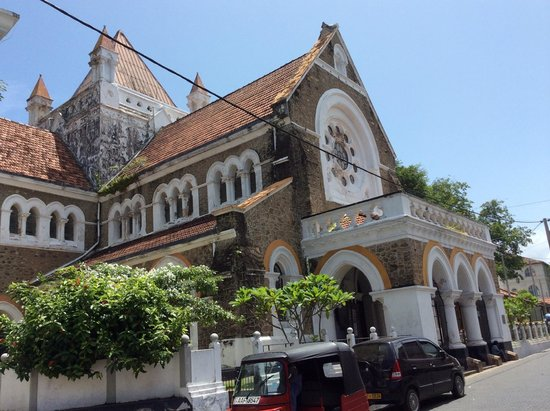 Galle Fort: All Saint's Church
