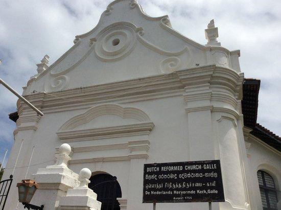 Galle Fort: Dutch Reformed Church