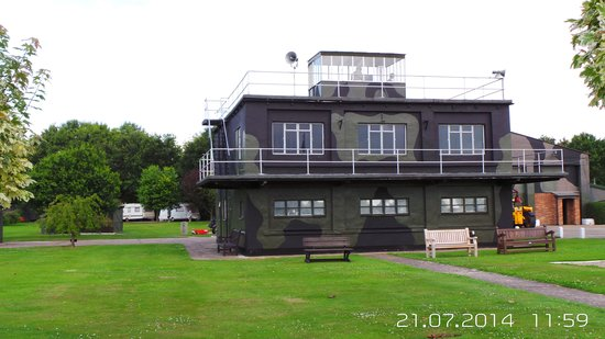 Lincolnshire Aviation Heritage Centre: control tower