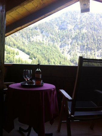 Hotel Uhrerhof-Deur: We were spoiled after a hard day in the mountains