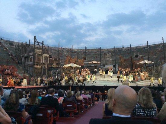 Arènes de Vérone : Carmen Stage at the Arena di Verona