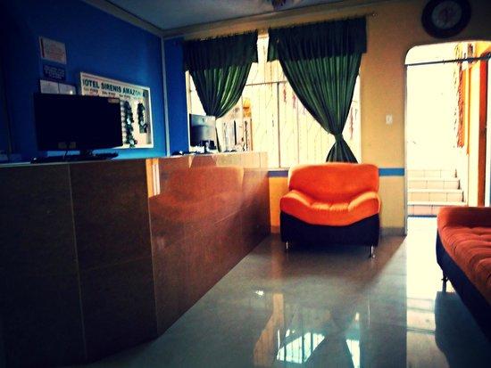 Hotel Siren's Amazonia: Lobby y centro de negocios