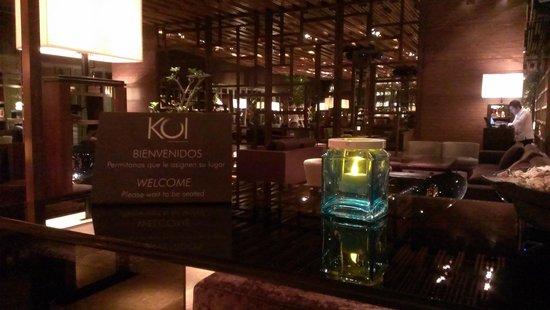 Grand Velas Riviera Maya: Koi Bar at Zen Suites