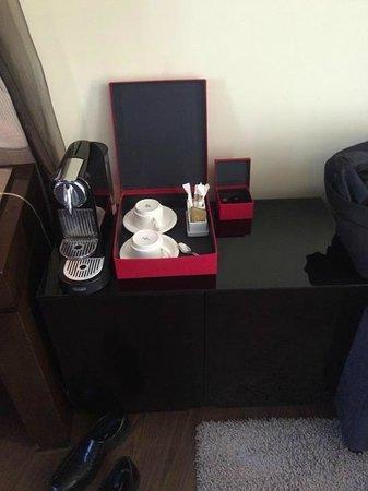 Vincci Capitol Hotel : Espresso machine