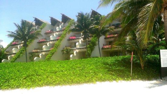 Grand Velas Riviera Maya: View from the beach