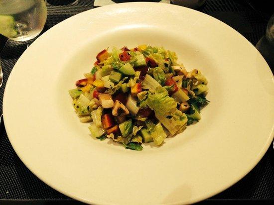 Baci Cafe & Wine Bar : dinner salad