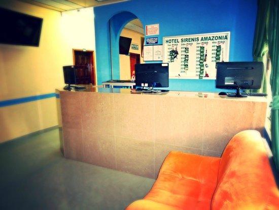 Hotel Siren's Amazonia: Lobby del Hotel