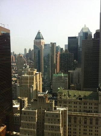 Hilton Times Square: View from the 41st Floor