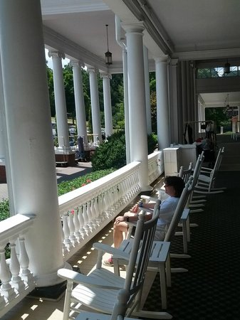 The Omni Homestead Resort: Front Porch