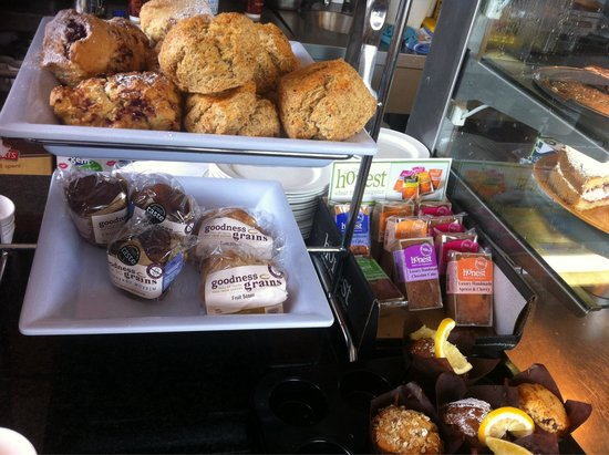 Savoury Fare: Gluten free goodies and bread available also