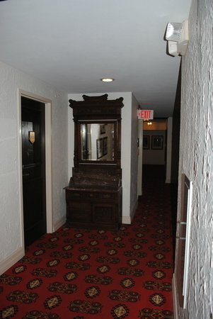 The Cheshire : antiques in the hall