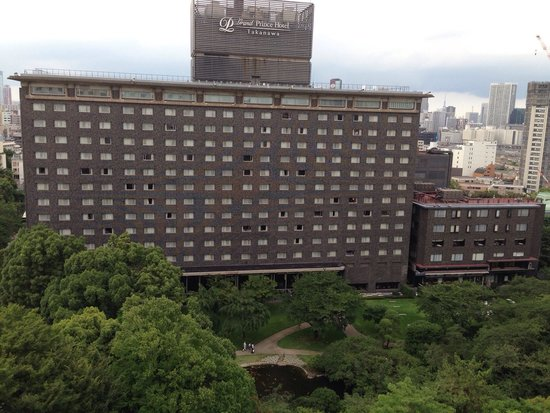 Grand Prince Hotel New Takanawa : View from room on 12th floor