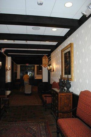 The Cheshire: Downstairs headed toward the lobby