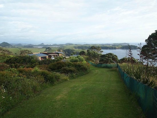 Ara Roa Accommodation - Whangarei Heads : Cliff House view