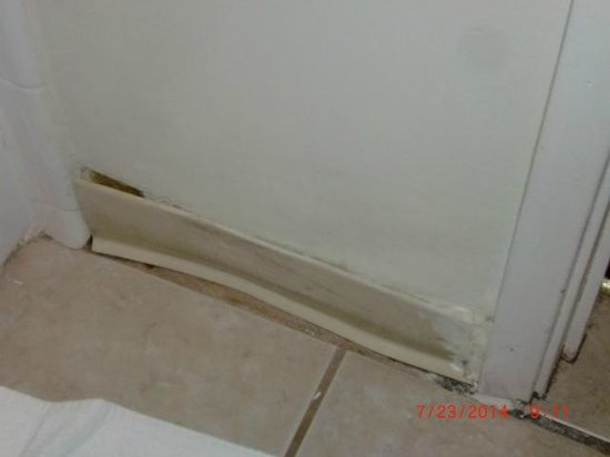 The Islander Motel : in the bathroom