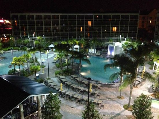 Sheraton Lake Buena Vista Resort: This was the amazing view from our room!