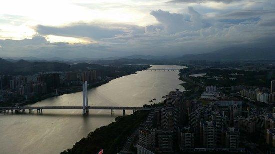 Renaissance Huizhou Hotel: DongJiang View from Room