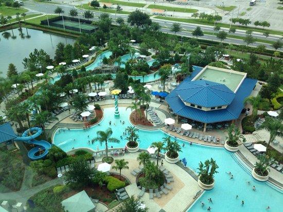 Hilton Orlando: Quarto com vista para piscina