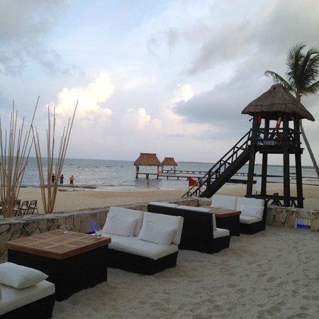 Grand Luxxe at Vidanta Riviera Maya : View from Havana Moon Restaurant
