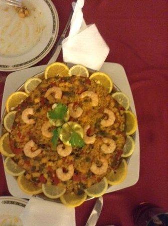 555 Wine & Tapas Restaurant : paella