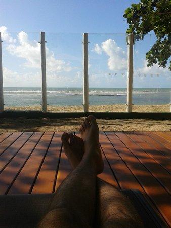 Aquarela Praia: Vista da piscina