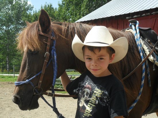 Circle B Ranch: my grandson