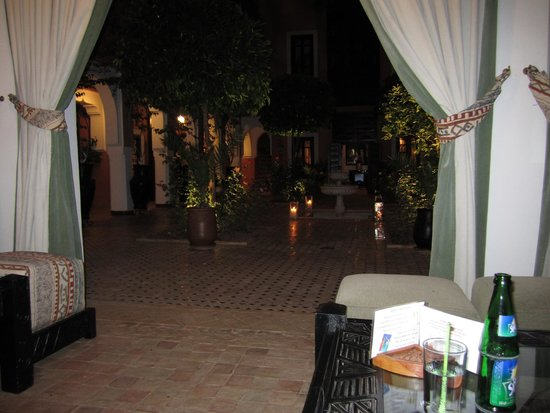 Les Borjs de la Kasbah: View from seating area