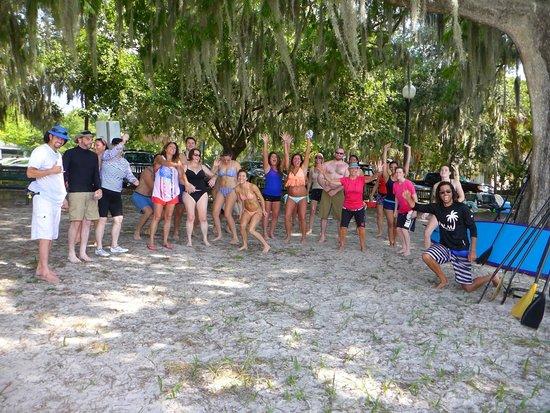 Paddleboard Orlando : Camaraderie!