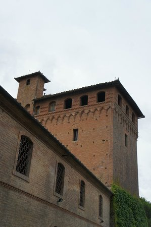 Castello di San Fabiano: The tower of the castle