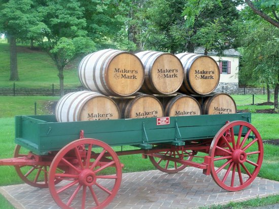 Maker's Mark: Barrel Wagon