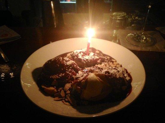 Pappas : Chocolate and banana dessert