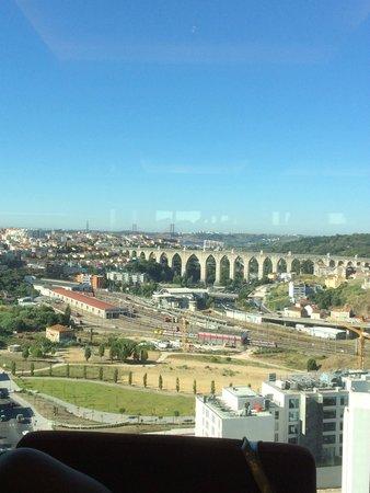 Corinthia Hotel Lisbon : vista da janela do hotel