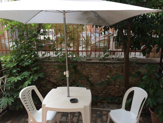Hotel Villa Elle: Giardino privato