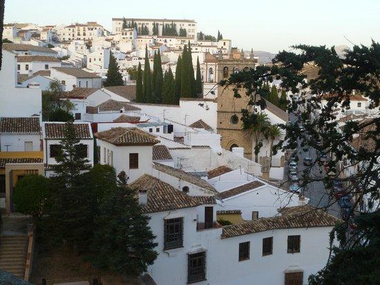 La Casa Del Rey Moro: View of Ronda from garden