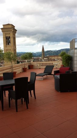 The Westin Excelsior Florence: view of the balcony