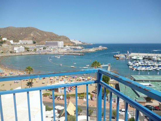 Servatur Puerto Azul: from halfway down steps