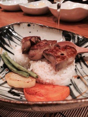 Azabu: Foie gras