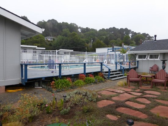 Tomales Bay Resort: View of the pool
