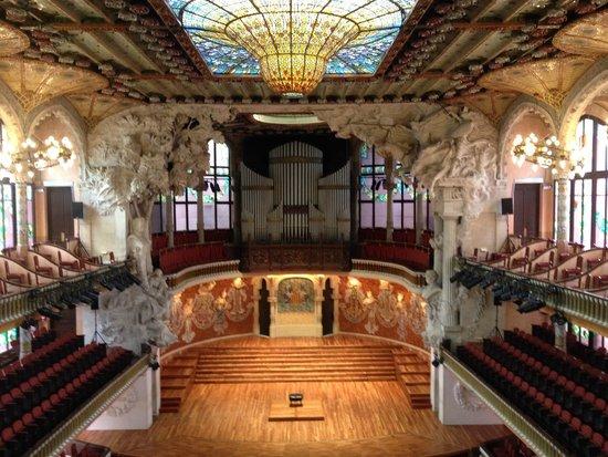 Palau de la Musica Orfeo Catala: Palau de la Musica Catalana - The overview