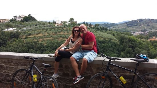 I Bike Italy - Day Tours: View from above the city
